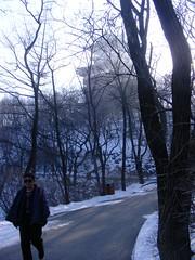 Dandong (), Liaoning Province (asterisktom) Tags: china park parque beautiful pagoda border  february province 2012   liaoning zhongguo dandong      rivermountain  gngyun jnjingshngngyun beautifulrivermountainpark jnjingshn