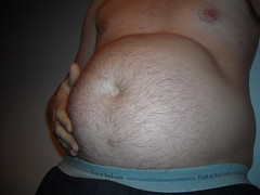 February 2012 (pot.gut) Tags: gut fat stomach belly paunch ballbelly ballgut