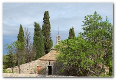 Chapelle Saint-Sixte (afer92 (busy)) Tags: tree easter chapel cypress provence avril arbre printemps chapelle 2012 pâques cyprès eygalières 9263 saintsixte chapellesaintsixte