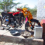 "Motorcycle Shrine <a style=""margin-left:10px; font-size:0.8em;"" href=""http://www.flickr.com/photos/14315427@N00/6934562529/"" target=""_blank"">@flickr</a>"