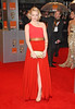Emma Stone Orange British Academy Film Awards 2011(BAFTAs) held at the Royal Opera House - Arrivals London, England