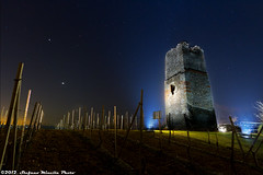 277/365 [365 Project] - Tower and Vineyard Under The Stars (Stefano.Minella) Tags: tower photoshop canon project stars eos this star photo vineyard day with shot post 33  under like dont 7d production much but another 365 usm efs 1022mm 2012 stefano mediaeval lightroom minella 277 f3545 277th cs5 277365