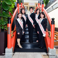 Northern California Cherry Blossom Queen Program Press Conference 2012