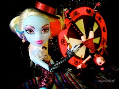 Circus Abbey (myookat) Tags: abbey monster skull high doll ss shores mh bominable