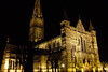 Catedral de Salisbury (marathoniano) Tags: city greatbritain inglaterra england art english architecture noche arquitectura europa europe arte cathedral unitedkingdom gothic catedral ciudad nocturna wiltshire nigth reinounido gòtic gótico marathoniano holidaysvacanzeurlaub ramónsobrinotorrens