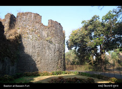 Bastion at Bassein Fort (Amar Mainkar) Tags: india bombay vasai historicindia basseinfort vasaifort