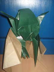 origami Yoda (virginiawoolf10) Tags: star origami yoda wars kawahata fumiaki yodathejedimaster