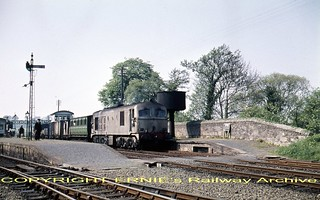 dse Macmine Junction A Class late 1950's c113