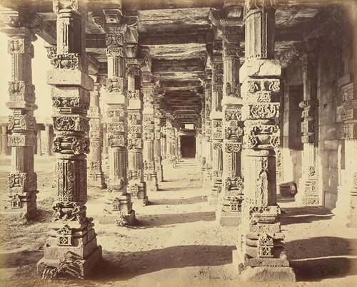 Colonnade of Hindoo Pillars at the Kietus