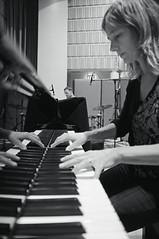 """Long Pair Bond"", Sunna Gunnlaugs trio recording session (Siggidri) Tags: blackandwhite bw music june musicians drums blackwhite iceland bass drumset microphones piano jazz contrabass trio recording sland mics uprightbass grandpiano jazzmusicians recordingsession acousticbass toggi bassi jn 2011 kpavogur tnlist jazztrio salurinn pianotrio kpavogi nikond300 kontrabassi djass capturenx2 sunnagunnlaugs sc"