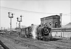 YP 2735 (RhinopeteT) Tags: india steam railways locomotives