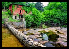 The Mill (joegilbreath) Tags: mill creek alabama falls waterfalls redmill