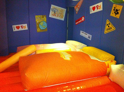 Kidzania Residential - bouncy bed