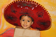 Aldair with the Sombrero (Marlisa Osborne) Tags: fieldtrip preschool cincodemayo allaboutkids