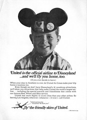 1967 Vacationland Winter-Spring 08 - United Airlines ad (Tom Simpson) Tags: vintage advertising 60s disneyland ad disney advertisement 1967 1960s vacationland unitedairlines vintagedisneyland vintagedisney vacationlandmagazine