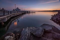 Steilacoom Ferry Dock (llabe) Tags: washington nikon fx steilacoom d610 bw10stopndfilter
