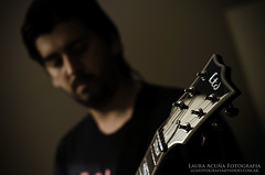 LTD (Laura Acua || LoQra!) Tags: argentina metal 50mm buenosaires nikon guitarra ltd deathmetal d7000