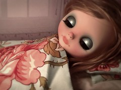Blythe-a-Day May: I'm Only Sleeping: Cassidy Rests Up...