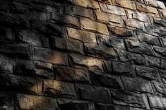 #Look up Isolation (iSam's) Tags: morning sunlight up look stone wall gold lookup 2016 isam flickrfriday