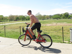 IMG_0471 (FOTOSinDC) Tags: shirtless man hot bike candid handsome biker shorts
