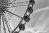 Brighton Wheel (One-Take Photography) Tags: camera england blackandwhite bw white black wheel contrast circle photography photo nikon brighton photographer image unitedkingdom sony south like sunny ferris follow crop gb dslr share edit facebook lightroom instagram