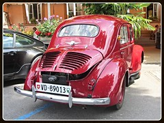 Renault 4CV (v8dub) Tags: auto old classic car french schweiz switzerland automobile suisse 4 automotive voiture renault oldtimer oldcar cv collector wagen pkw klassik chavornay worldcars