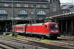P2300603 (Lumixfan68) Tags: u2 siemens eisenbahn db 64 es taurus bahn deutsche regio 182 zge ire loks interregioexpress baureihe eurosprinter