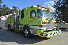 Palm Beach Gardens Fire Rescue Engiene 7 (Emergency_Vehicles) Tags: rescue beach station gardens fire 1 engine 7 palm piece e7 spares