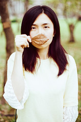 (Mr.Sai) Tags: portrait girl analog 50mm fuji takumar f14 taiwan taipei smc fujica reala 500d cinefilm 8592 st801    ecn2
