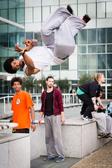 Freerunning, La Dfense (Eddie_UK) Tags: paris france freerunning ladfense