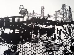 MBosley_AtomicCitydetail1 (TheWayThingsWere) Tags: silhouette paperart silhouettes papercut papercuts papercutting mollybosley