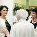 Latorcai-Ujházi Aranka ikonfestő művész a babagyűjteményéből rendezett kiállítás megnyitóján