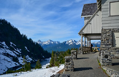 Heather Meadows Visitor Center (1940) - Mt. Baker ( Peterson Photogr@phy) Tags: forest snowscape snoqualmienationalforest