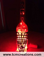 Tool (TCM Creations) Tags: glass lamp bar bottle pub wine vinyl led decal tool mancave
