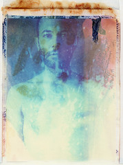 sp (///Brian Henry) Tags: film self polaroid manipulation expired abused instantfilm 110a iduv