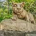 The Nittany Lion Shrine. This is a composite of three photos at different exposures.