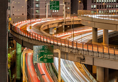 Tokyo Highways 8832 (kbaranowski) Tags: longexposure urban reflection japan vertical horizontal skyline architecture modern night speed skyscraper river outdoors photography tokyo cityscape citylife tranquility nopeople panoramic illuminated transportation nippon japaneseculture touristattraction nihon urbanlandscape tokio ontheway lighttrail roadtraffic urbanstreet urbanstreets capitalcities famousplace buildingexterior touristdestination elevatedview elevatedhighways krzysztofbaranowski 2016krzysztofbaranowski