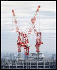 Urban lego (PavelTitov) Tags: people urban japan skyscraper cityscape pentax crane