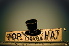 Top Hat Liquor (TooMuchFire) Tags: signs typography neon hats liquor signage pomona neonsigns lightroom oldsigns vintageneonsigns liquorstores liquorsigns oldneonsigns lightroom3 tophatliquor toomuchfire 565ndudleystpomonaca pomonasigns signsinpomona