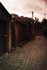Trace Project One (sarah.janeowen) Tags: street york urban lines vintage photography lomo lomography rustic converging converginglines