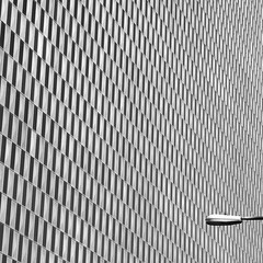 Hokey Pokey (Lord Jezzer) Tags: abstract building monochrome lines architecture streetlight pattern perspective angles structure minimal repetition hokeypokey richardbolling oscarsareon