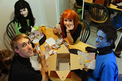 IMG_6735 (kado_li) Tags: kim cosplay disney ron megacon possible drakken shego stoppable