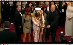 Oscar 2012 - Sacha Baron Cohen - The Dictator - pix 22