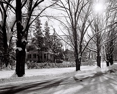 Snow in Garrett Park, 1977 (lreed76) Tags: snow md 1977 garrettpark
