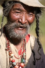 Portraits of Old Age on my Travels Far Western Tibet (eriagn) Tags: buddhist buddhism religion religious sacred holysite eriagn ngairelawson pilgrim tibetan man old elderly pilgramage tirthapuri far western tibet robe traditional asia china fur beads canon eos nationalgeographiccovernominated icapture travel roofoftheworld documentary remote isolated empty hardy survival harsh living belief photography social reportage silkroad ethnic tribal decoration wealth status highaltitude tibetanplateau rugged terrain pilgrimage journey local people ngairehart expedition 4wd camping hiking september october autumn climate extreme