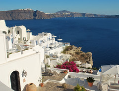 Panorama desde Fira, Santorini, Grecia (rsaezn) Tags: island santorini greece grecia santorin islas thira fira thera griegas santorino  santorn