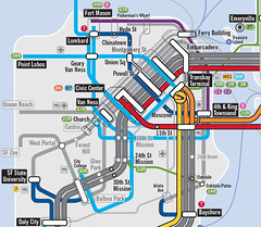 SPUR Regional Transit: Possible Future San Francisco (brunoboris) Tags: spur future bayarea mtc transitmap stokle