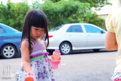 Playing Bubbles~ (Alphone Tea) Tags: life family blue light shadow portrait favorite white playing motion art beautiful childhood contrast speed pose children fun photography daylight photo amazing model colorful asia little sweet bokeh modeling outdoor models chinese adorable bubbles malaysia lovely staring 2012 1755 60d printred