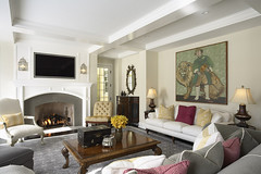 """Elegant and warm Family Room fireplace • <a style=""""font-size:0.8em;"""" href=""""https://www.flickr.com/photos/75603962@N08/6853423455/"""" target=""""_blank"""">View on Flickr</a>"""