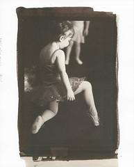 Pointe (-=DMC=-) Tags: bw ballet timeless digitalnegative altprocess saltprint wetprint handcoated handmadeemultion